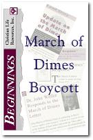 March of Dimes Boycott