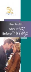 The Truth About Sex Before Marriage brochure