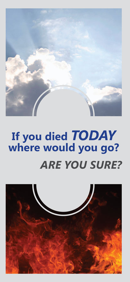 If You Died Today brochure