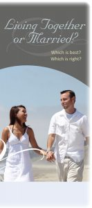 Living Together or Married brochure