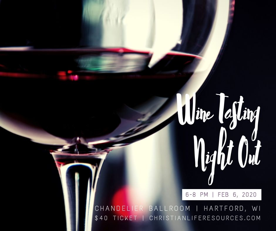 Wine Tasting Night Out Facebook Graphic