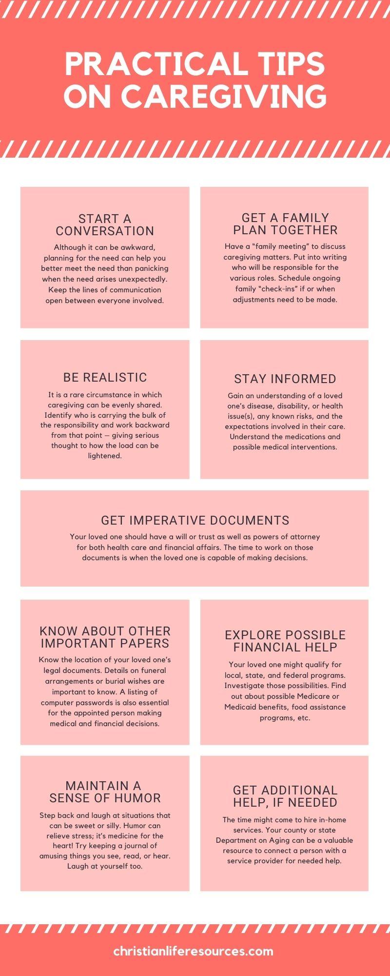 Caregiving Infographic